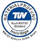 RWTuev zertifiziert